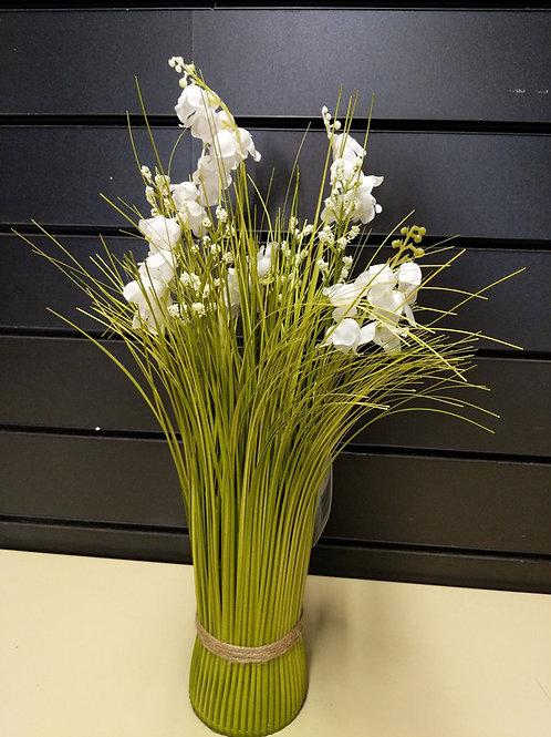 Faux simply white bouquet 40 cm
