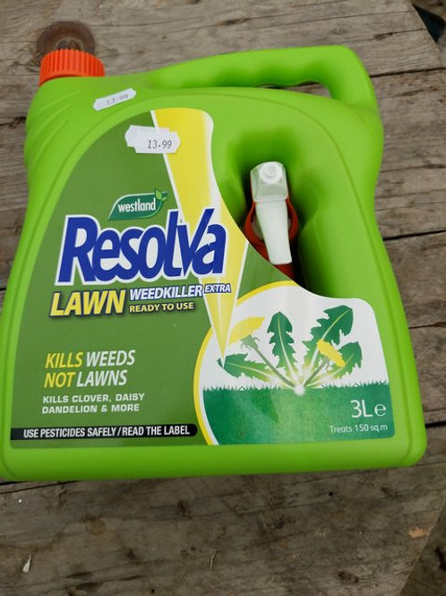 Resolva Lawn weedkiller