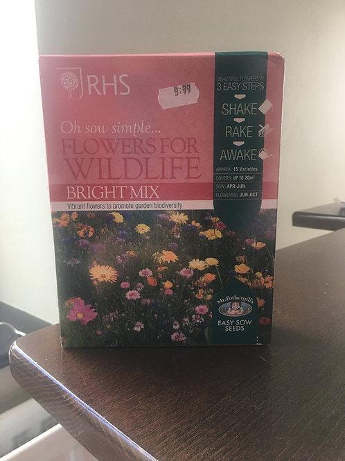 Flowers for wildlife brightmix