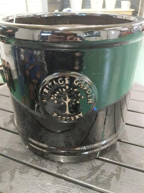 30 cm Black Heritage Cylinder