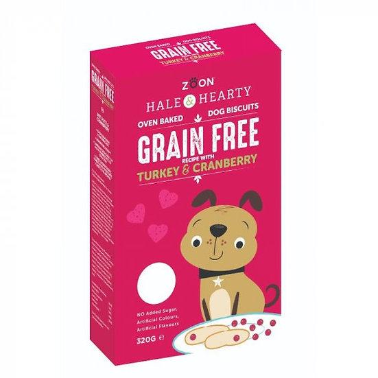 Turkey & Cranberry Grain Free Biscuits 320g