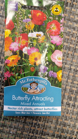 Butterfly Attracting Mixed Annuals