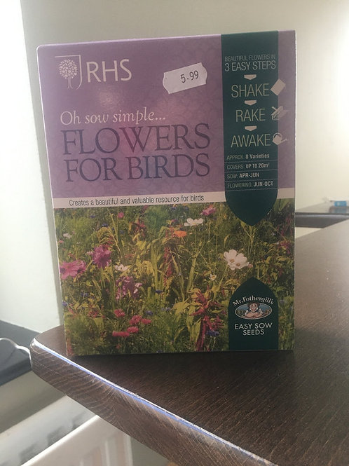 Flowers for birds