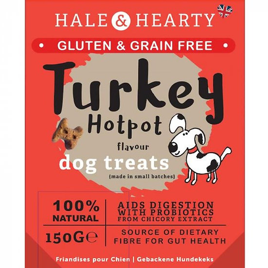 Turkey Hot Pot Grain Free Treats 150g