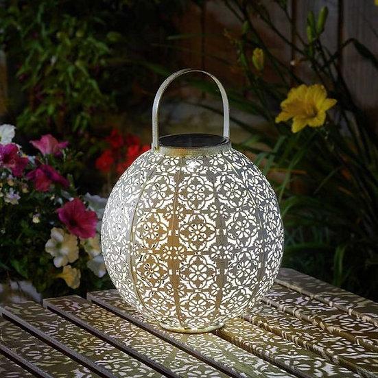 Damasque Cream Lantern