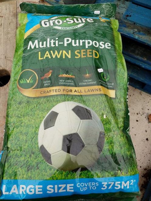 Multi purpose lawn seed 375 sq m