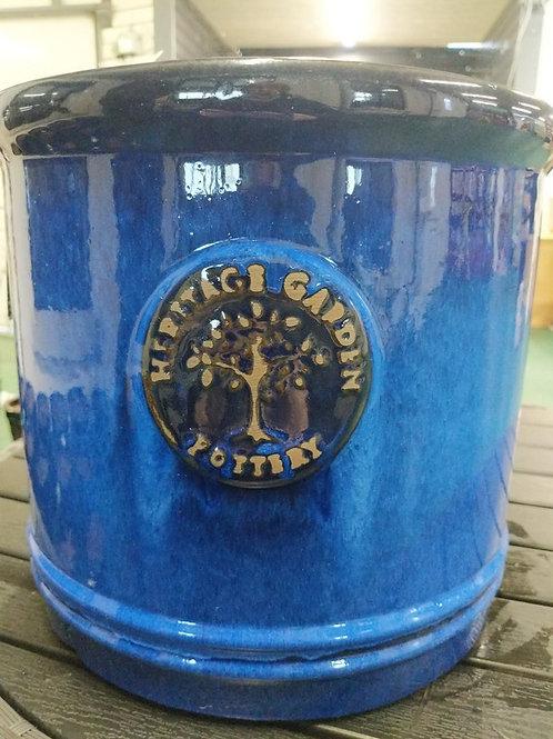 30 cm Blue Heritage Cylinder