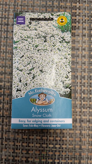 Alyssum Snow Cloth