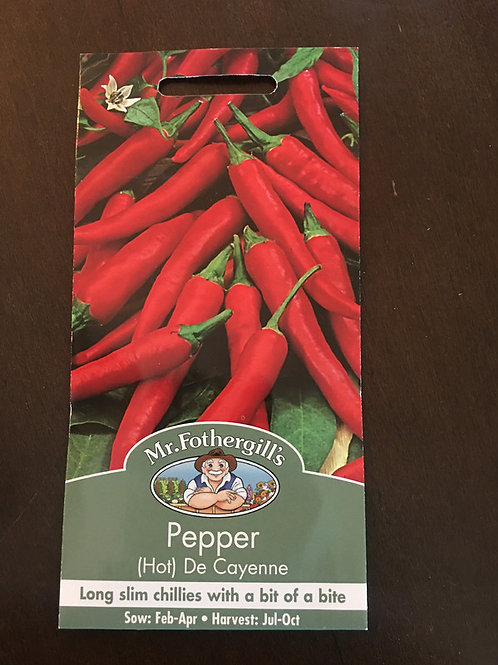 Pepper hot de cayenne
