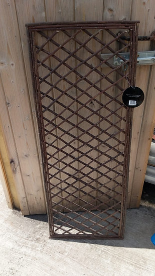 Rustic Square Willow Panel