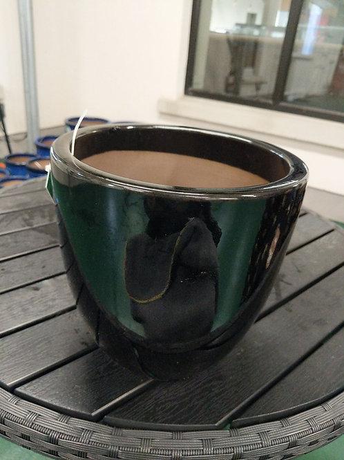 21 cm Black Egg Pot