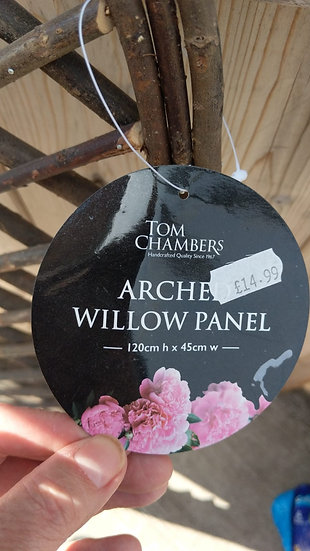 Arched Willow Panel