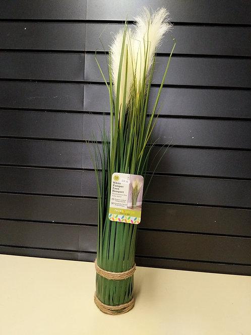 Faux White Pampas Grass 70 cm