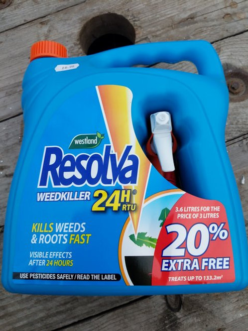 Resolva weedkiller 3.6 l