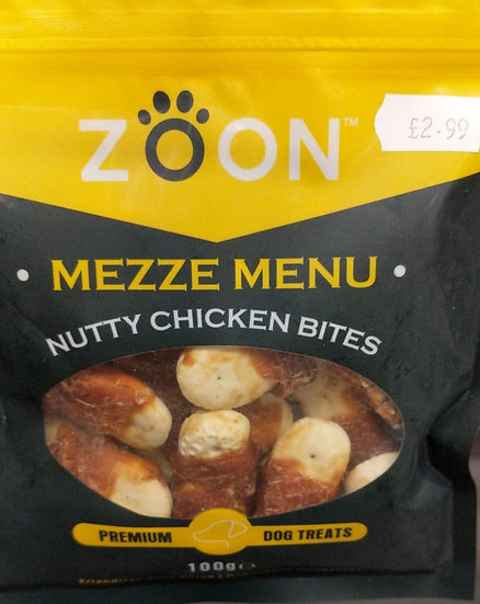 Nutty Chicken Bites