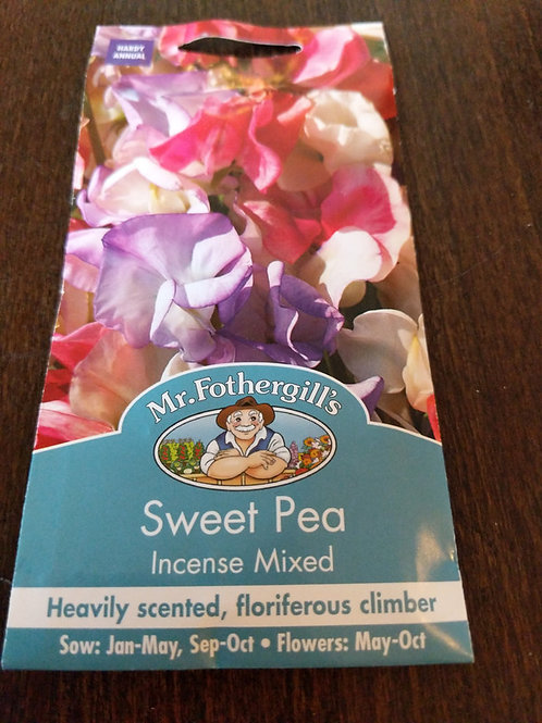 Sweet Pea incense mixed