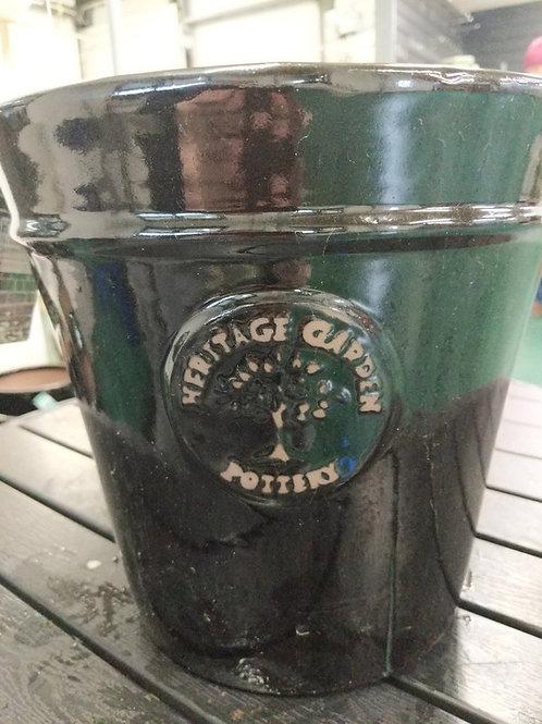 27 cm Black Heritage Pot