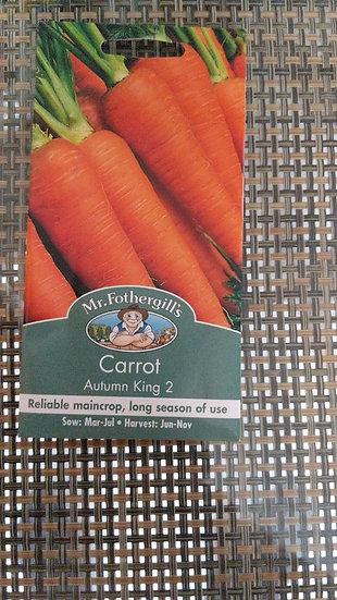 Carrot Autumn King