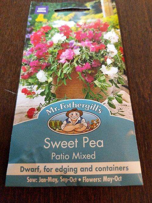Sweet Pea patio mixed