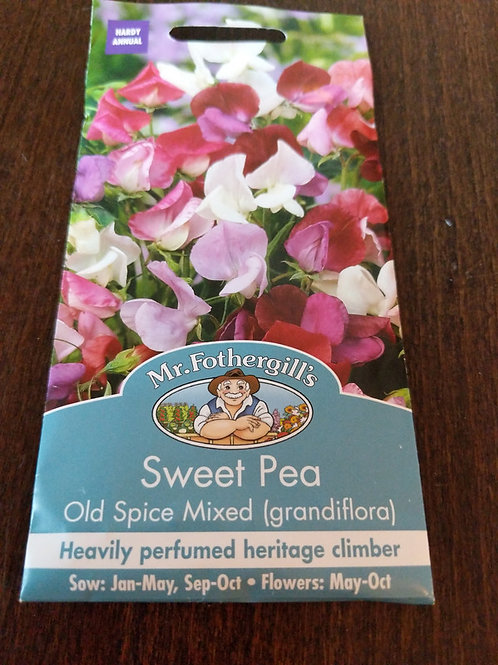 Sweet Pea Old Spice Mixed