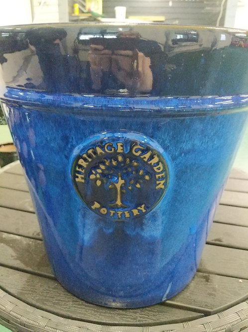 33 cm Blue Heritage Pot