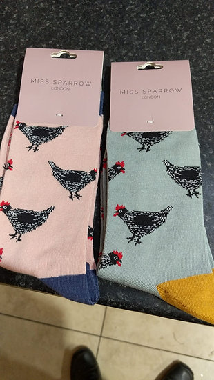 Hen socks