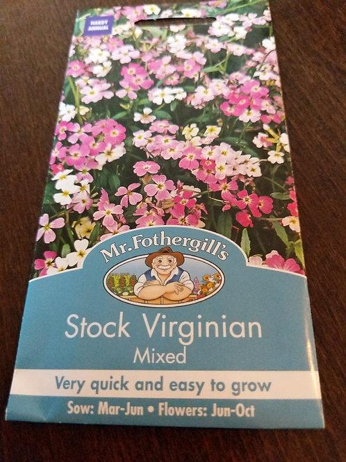 Stock Virginian mixed