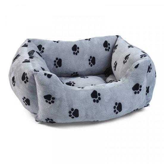 SnugPaws Square Bed - Grey
