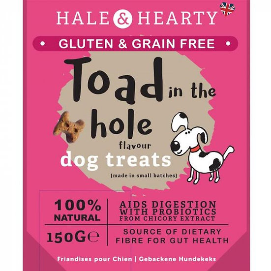 Toad in the Hole Grain Free Treats 150g