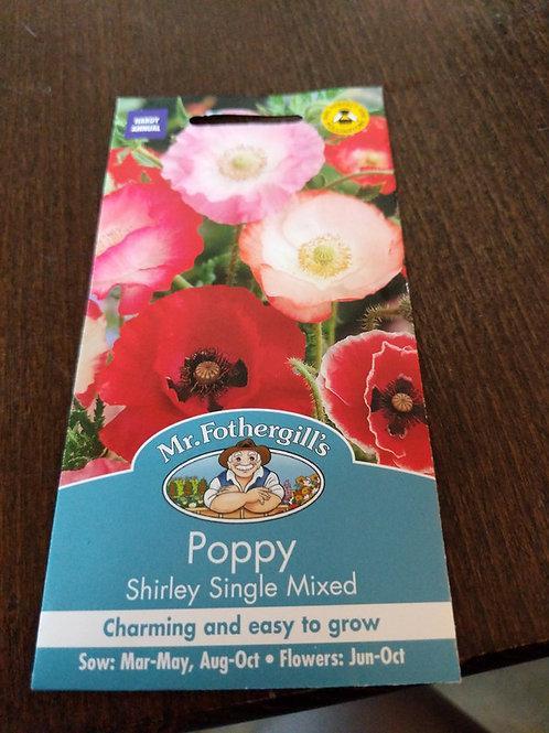 Poppy Shirley.singke mixed