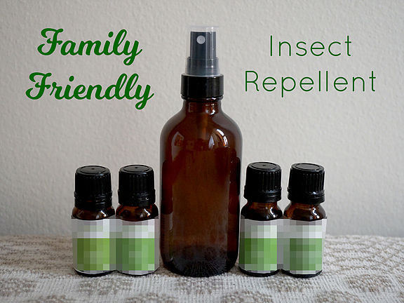 Family Friendly Insect Repellent