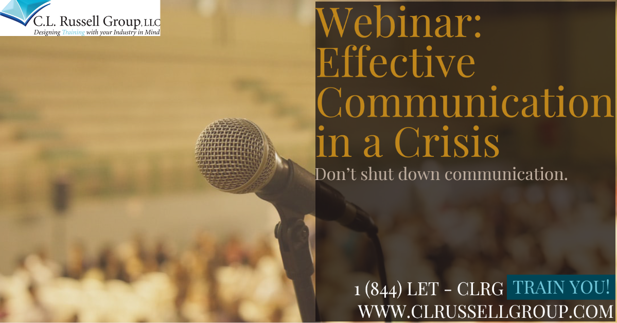 CLRG_Effective Communication in a Crisis