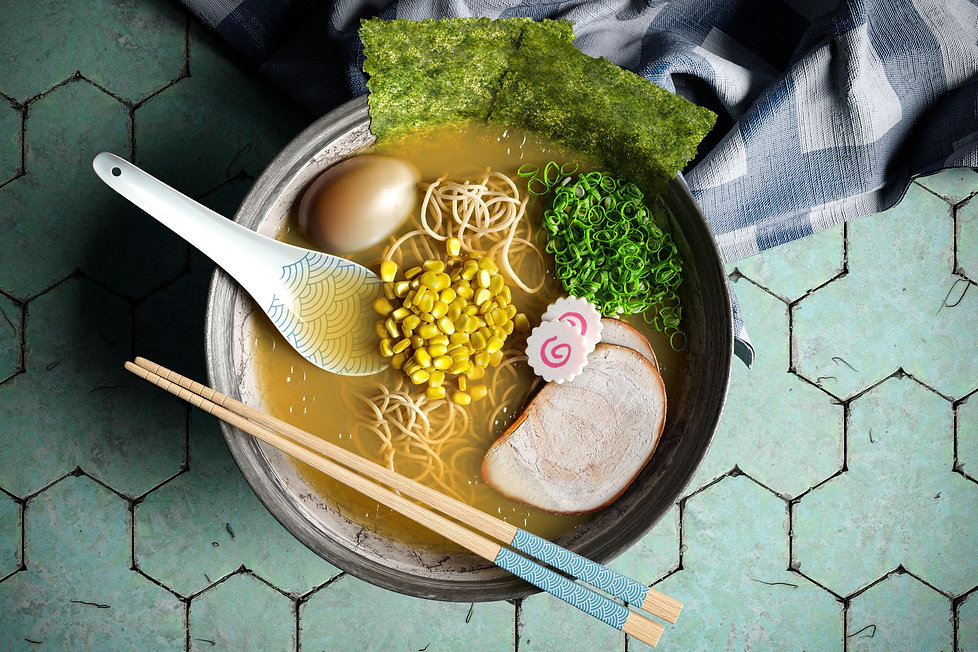 Ramen 3D model Hight Quality