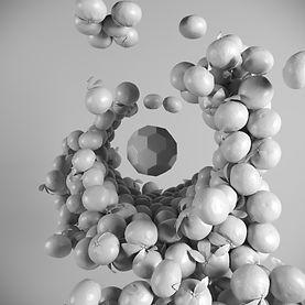 Clay Render Mandarini realizzato con Corona Render