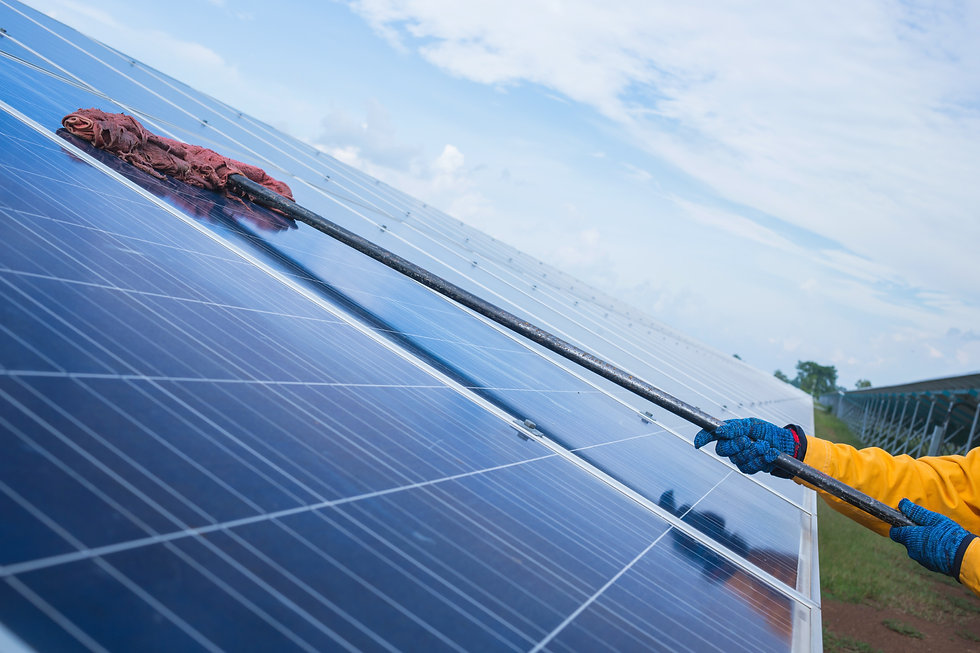 Solar Panel Cleaners Insurance From Gleaming Insurance