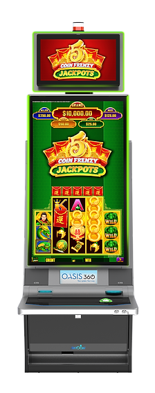 8 Coin Jackpots-Dragon - Helix XT Cabine