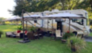 RV Camping Trailer Camin