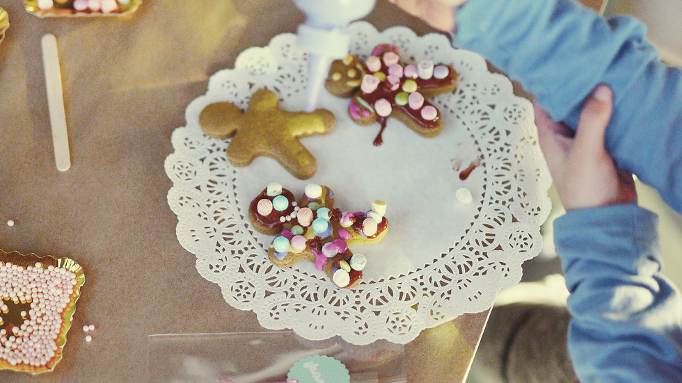 Gingerbread Party Kit