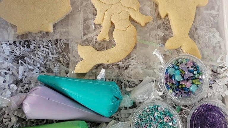 Mermaid Wishes Kit (6 Cookies)