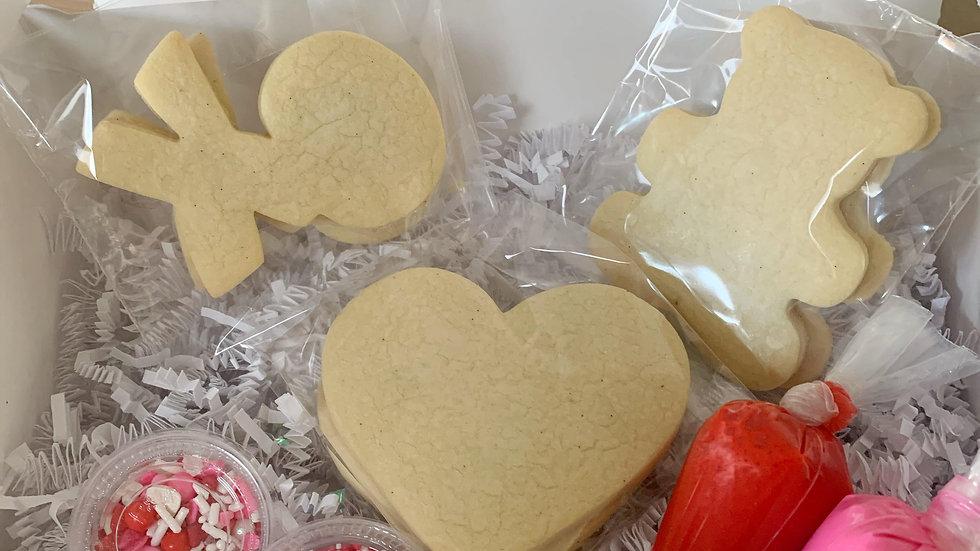 Valentine's Day Petite Kit (6 Cookies)