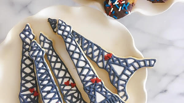 A Dozen Hand-Decorated Cookies