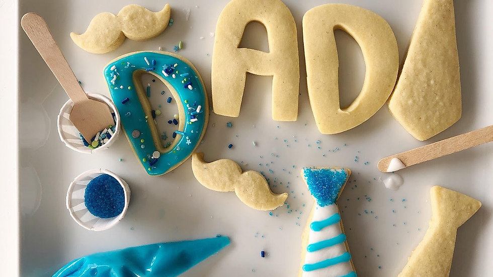 Father's Day Cookie Decorating Kit