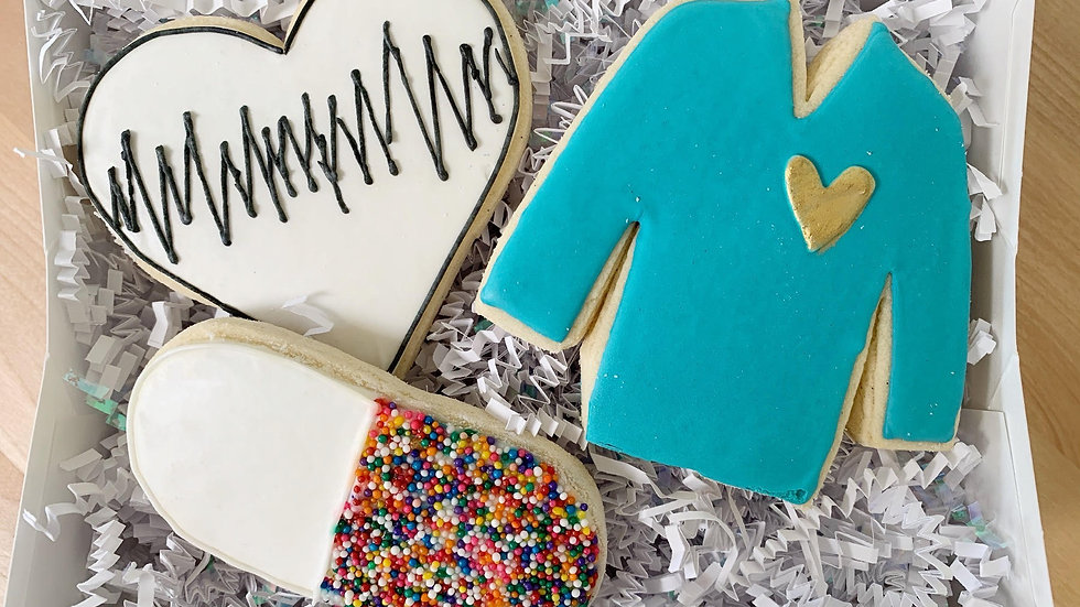 Heart of Gold Cookie Set