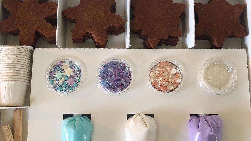 Snowflake Kit (12 Cookies)