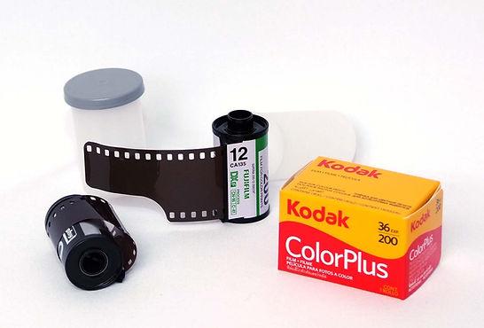 pellicule photo 135 couleur et noir et blanc