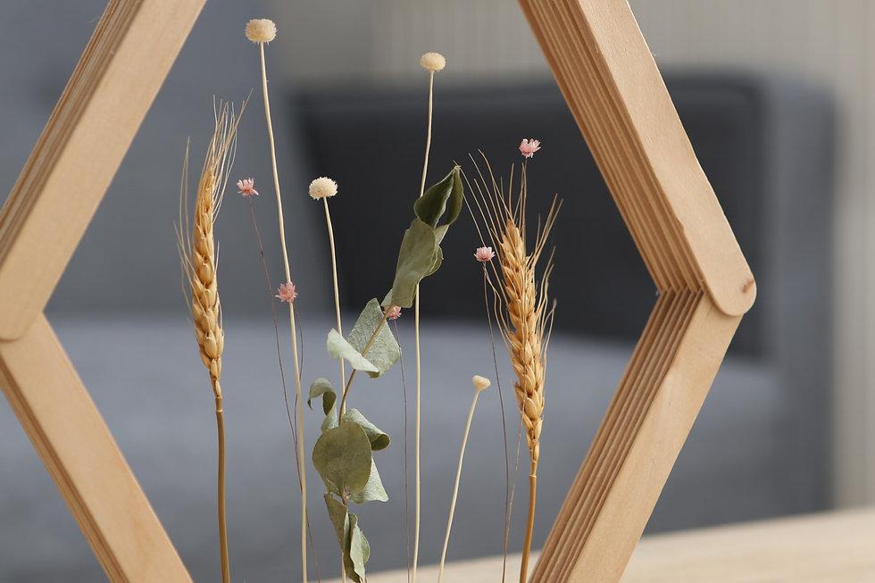 missmeline créations _ Cadre Fleurs séch