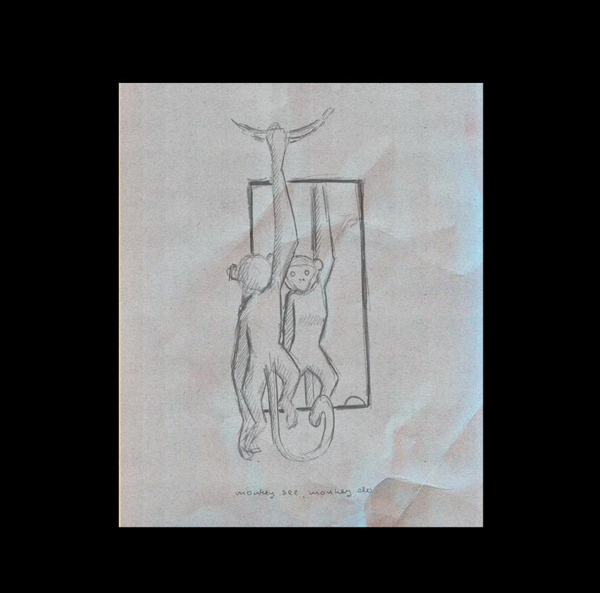 Monkey Scribble