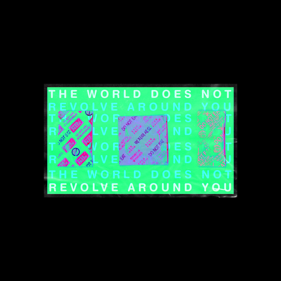 The world does not revolve around you. (2.0)