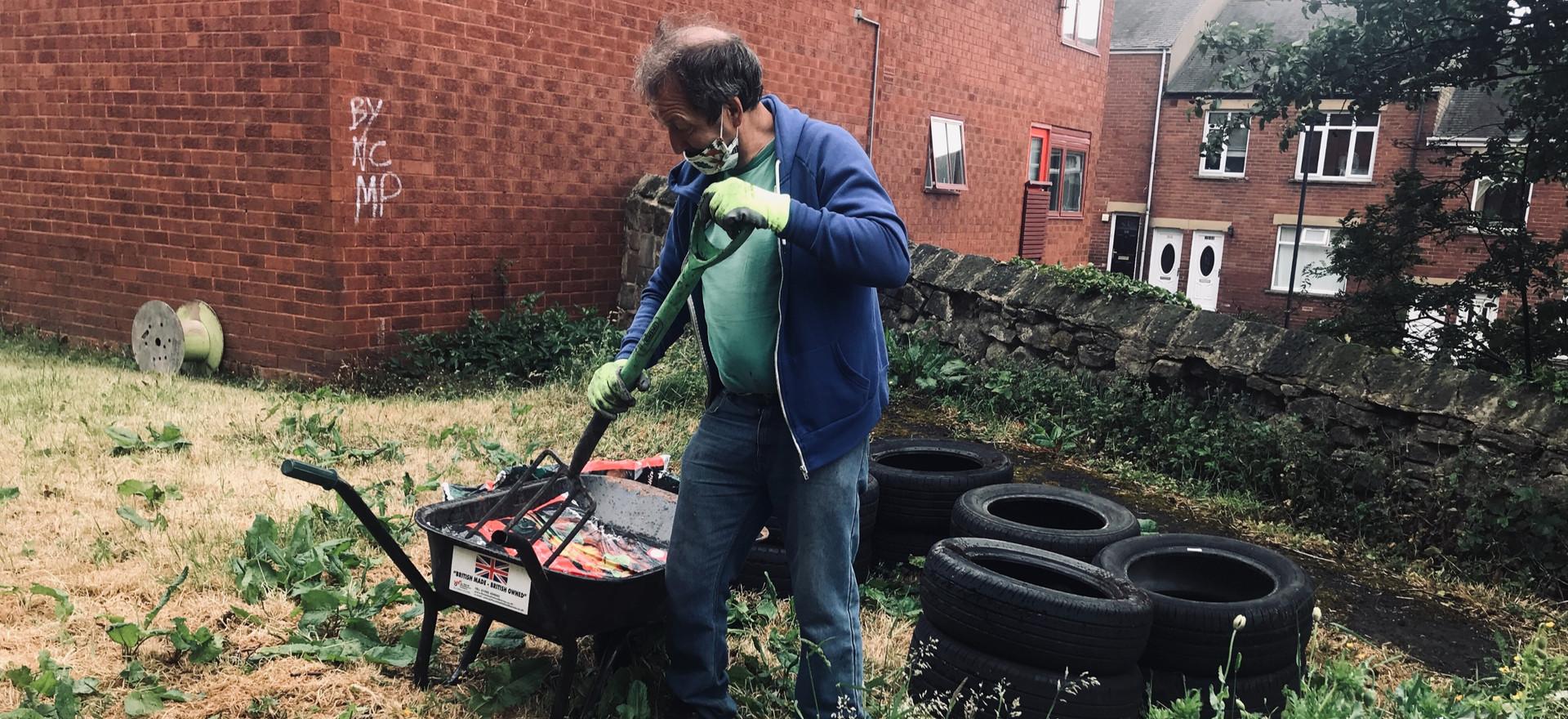 New Community Garden Project @ Byker Community Centre