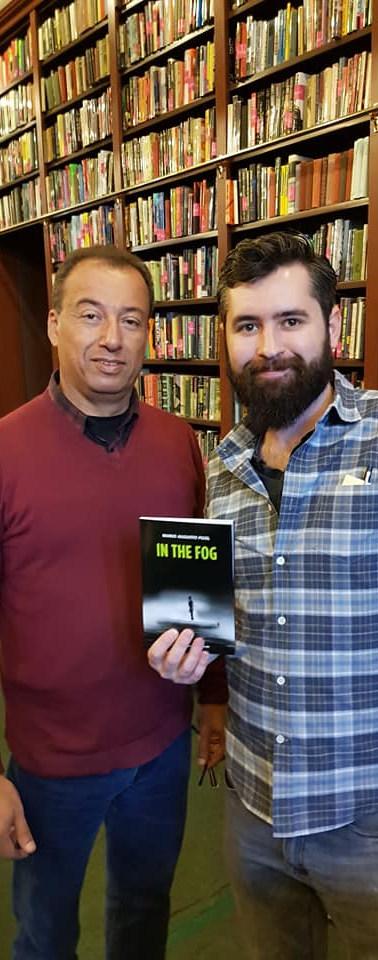Com o editor Thomas Wichersham da The Mi